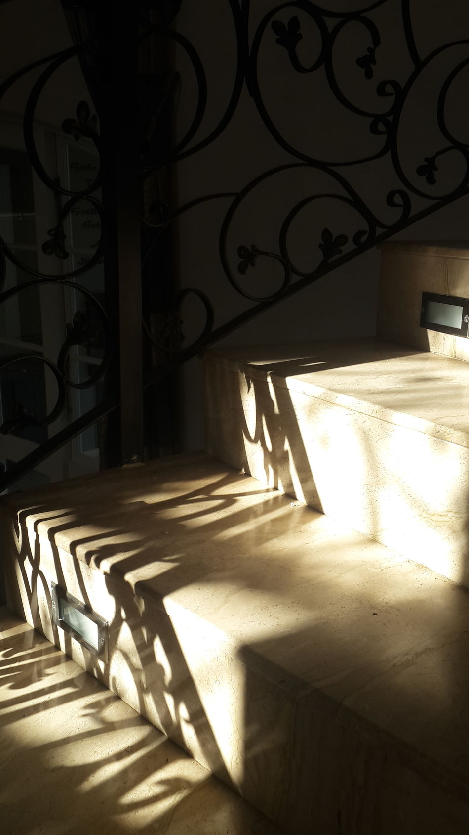 Staircase Marble Stairs Light And Shadow Grandure