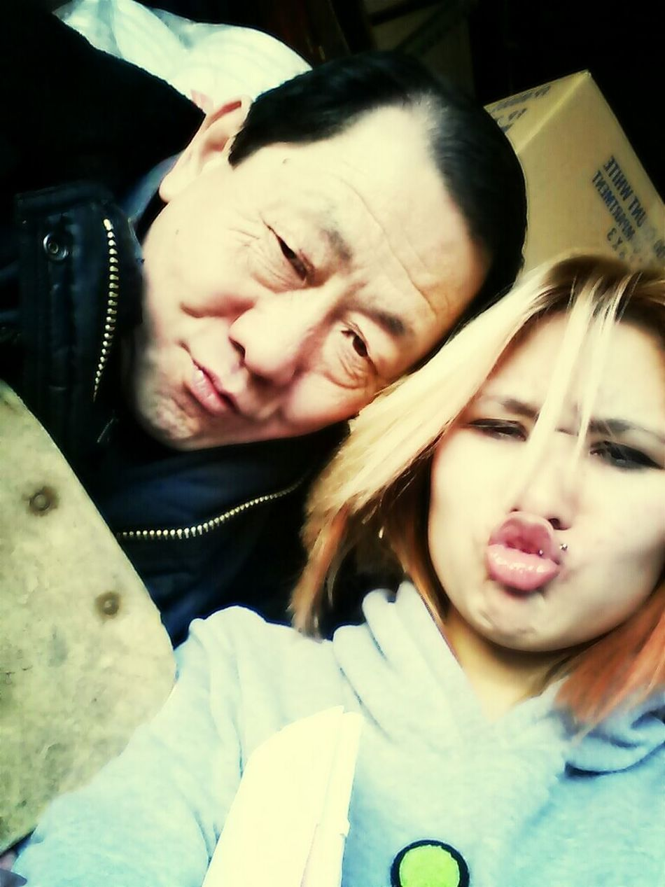 Chillin With My Chinitoo Granda Jimmy (: