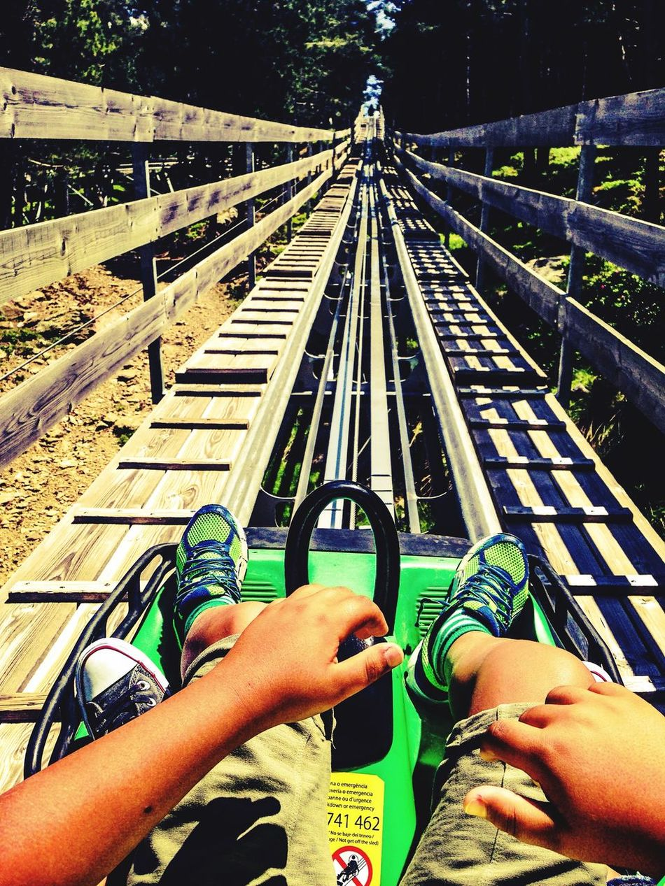 Beautiful stock photos of roller coaster, Amusement Park Ride, Arts Culture And Entertainment, Day, Diminishing Perspective