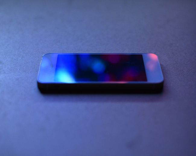 Blue Connection Mobile Phone Multi Colored No People Red Reflection Single Object Taken On Mobile Device Technology Wireless Technology