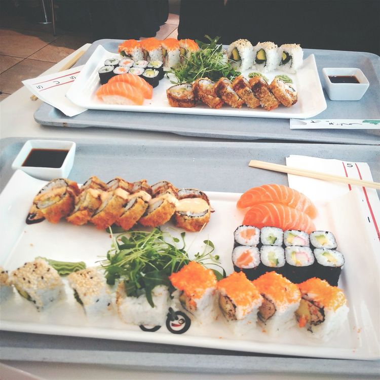 Love Sushi Love ♥ Food Foodphotography Omega 3 Good Start To The Day Difference Is Art Life is short - Eat