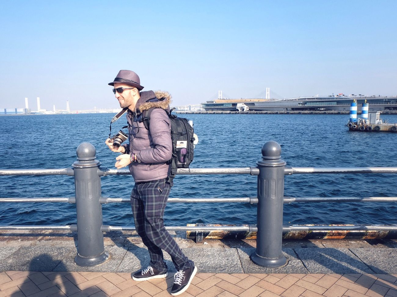 The Human Condition EyeEm Tokyo Meetup 7 Landscape_Collection Landscape Portrait Sea Blue Sky Keigo Port Cityscapes