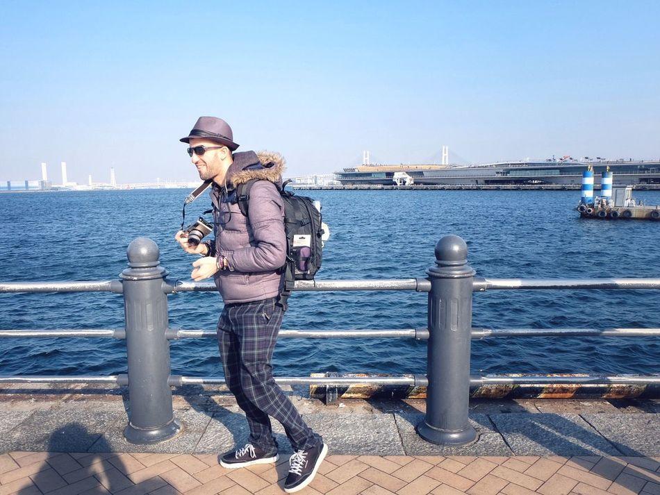 The Human Condition EyeEm Tokyo Meetup 7 Landscape_Collection Landscape Portrait Sea Blue Sky Keigo Port Cityscapes