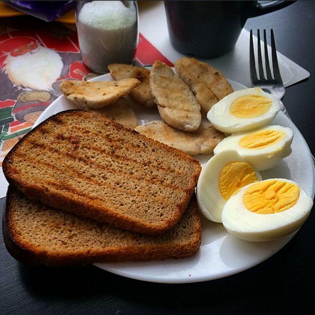 Завтрак Еда Breakfast Food Bread Eggs хлеб яйцо пп