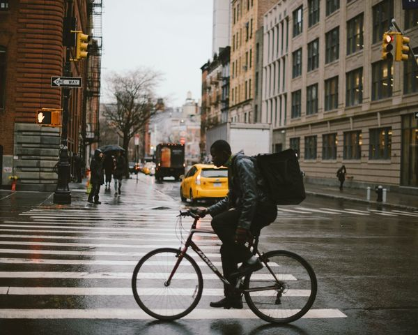 I waited until his bike tires met the solid lines of the cross walk. I love how this one came out. Bicycle City Transportation Architecture Street Land Vehicle Building Exterior Mode Of Transport Real People City Life Built Structure Men Cycling Road Outdoors Eye Em Vision EyeEm Best Shots Nikonphotography Nikonphotographer Adult Nikon EyeEm Masterclass EyeEm Diversity EyeEmNewHere EyeEmBestPics The Street Photographer - 2017 EyeEm Awards The Architect - 2017 EyeEm Awards The Photojournalist - 2017 EyeEm Awards EyeEmNewHere Neighborhood Map The Street Photographer - 2017 EyeEm Awards