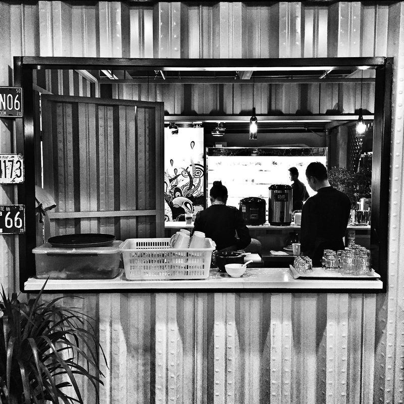IPhoneography Iphoneonly Restaurants People Monochrome Blackandwhite Black And White