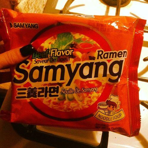 Beats Ramen by a gazillion. Samyang HMart 69th Street ..