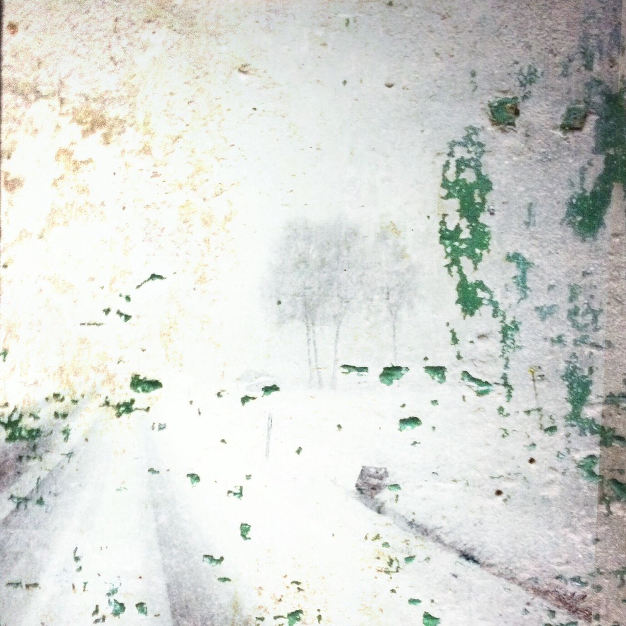 Snowstorm and colorstains. Snow Snowstorm Concrete Stains EyeEm Best Shots Edited