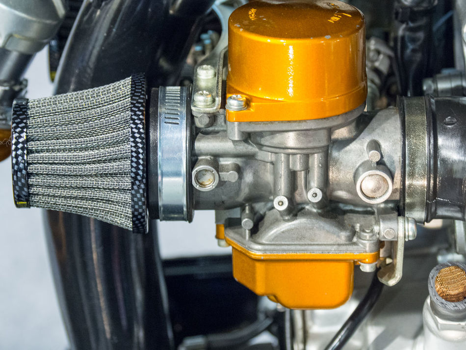 Air Carburetor Close-up Day Filter Industry Machine Part Metal Metal Industry No People Outdoors Technology Yellow