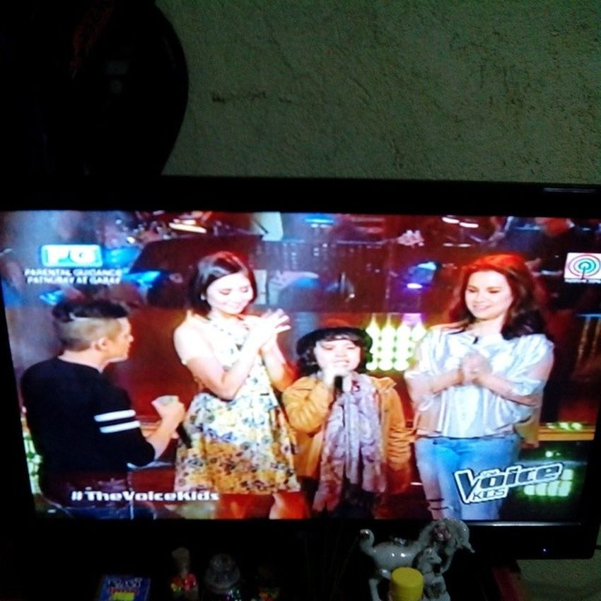 aaaawww... don wilson, you are great! better choice of song next time ??? TheVoiceKidsPH Thevoicekids