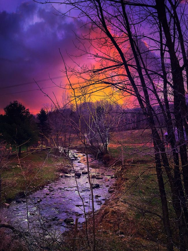 EyeEm Best Shots Sunset_collection Sky And Clouds Trees Nature Photography Darkness And Light Streamzoofamily TheVille Countryside Eye4photography  Vermont Nature