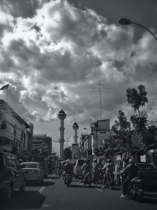 skyporn Bandung GangPolos streetphotography blackandwhite INDONESIA cloudporn by IwanYulianto