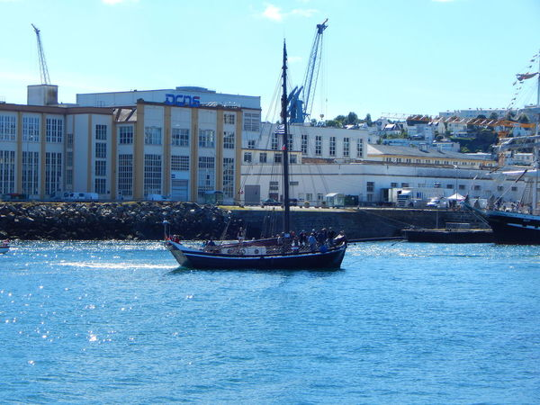 Adventure Club Architecture Blue Boat Brest Brest2016 Building Built Structure Canal City Day Event France Mast Mode Of Transport Nautical Vessel No People On The Way Outdoors Residential Building Rippled Sailboat Sky Water Waterfront