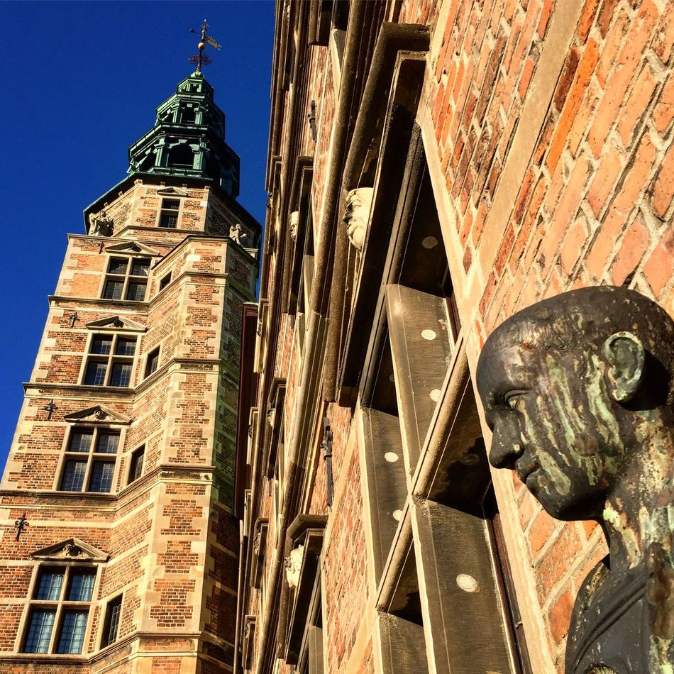Rosenborg Castle in Copenhagen Denmark Architecture Low Angle View Tower Building Exterior Built Structure No People Outdoors Sky City Day Heritage Heritage Site Heritagebuilding Castle Walls