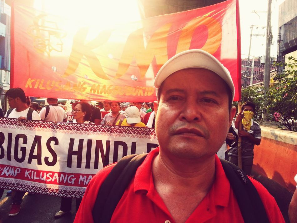 Survivor of violent dispersal of drought-stricken farmers protest in Southern Philippines demands land, food and justice and condemns the criminal negligence of Aquino government in Manila.