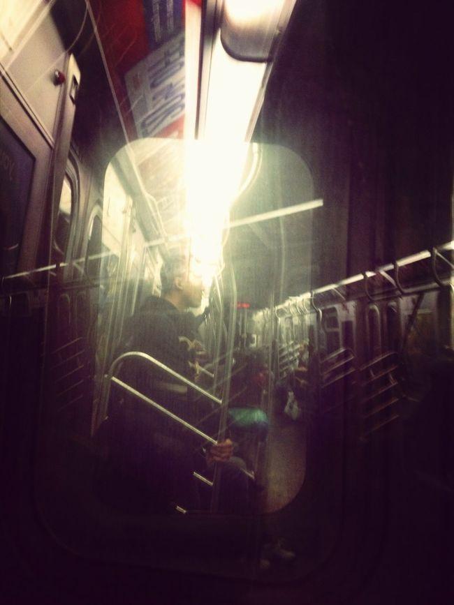 Riding The F Train