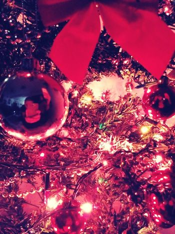 Merry Christmas! Christmas reflection.
