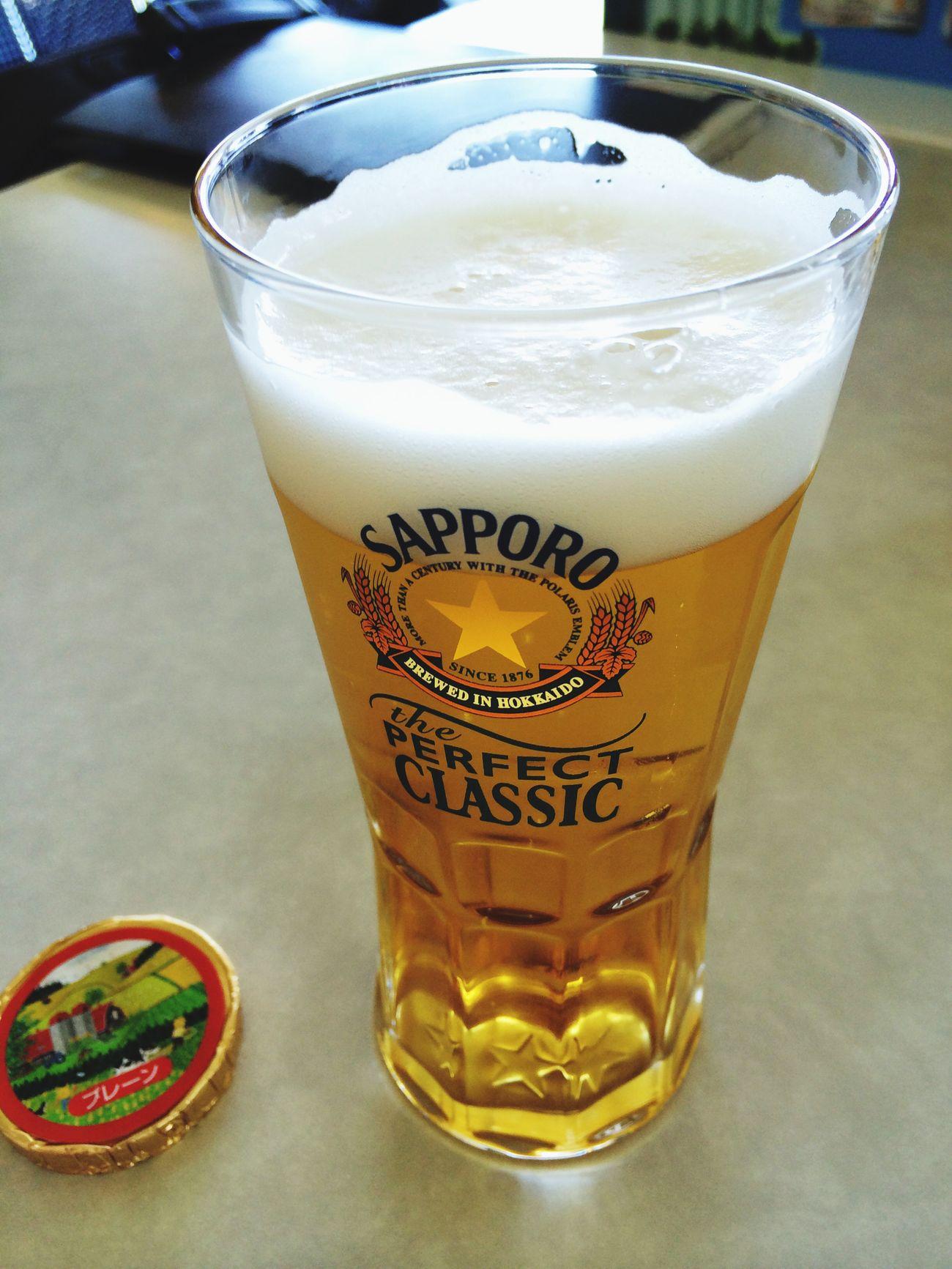 今日は朝から晩まで飲みっぱなし。サッポロ派なわたし\(^o^)/ Beer