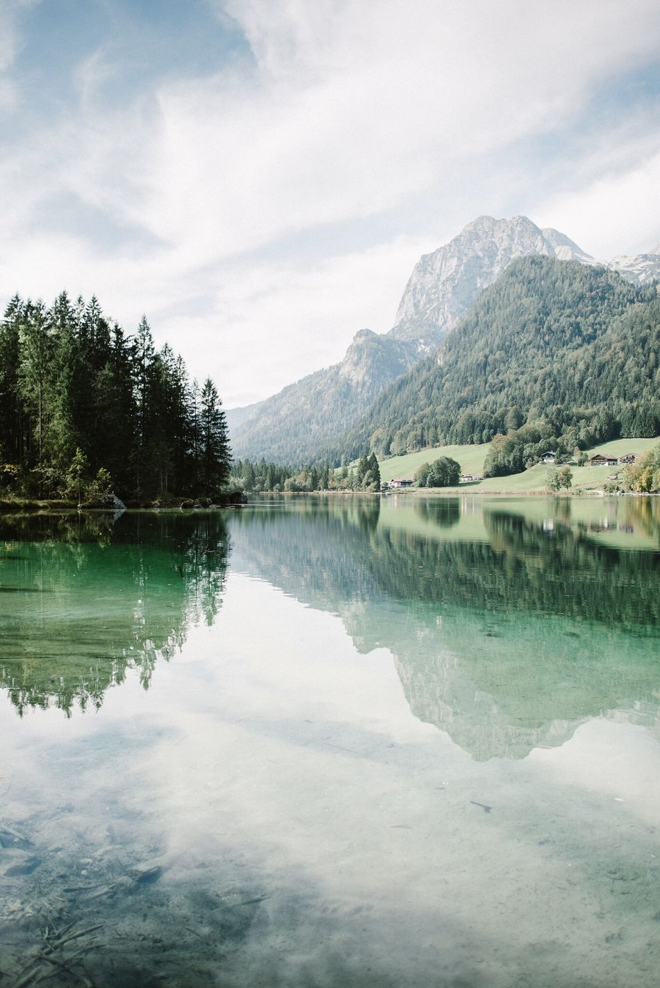 - Hintersee - Reflection Water Nature Sky Beauty In Nature Tree Idyllic Mountain No People Outdoors Clouds Nature Place Of Worship EyeEm Best Edits Moody Sky EyeEm Best Shots Travel Destinations Mood Lake Hintersee Bavaria Bayern Landscape Beauty EyeEm Nature Lover