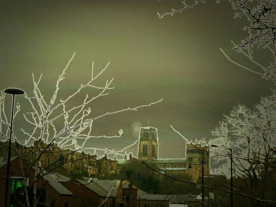 Roof Top View Of Durham City