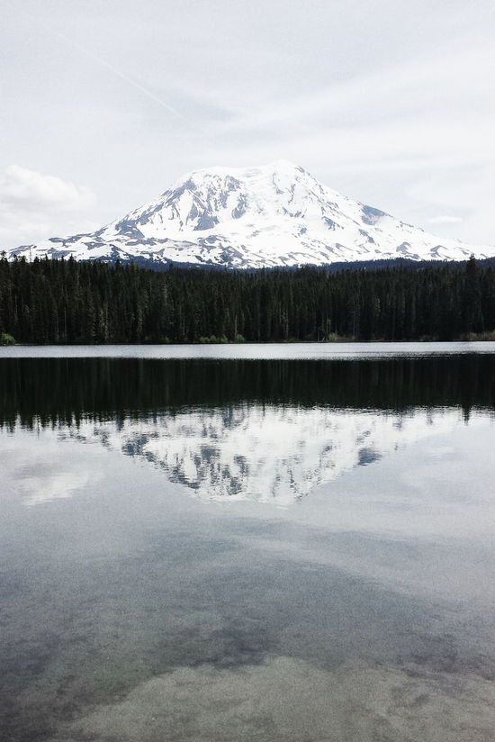 Moody Reflection Reflection_collection Reflections In The Water Mt.adams Nationalpark Forest Glacier Snow EyeEm Best Shots EyeEm Nature Lover Eye4photography  EyeEm Gallery EyeEm Best Shots - Nature Relaxing Taking Photos Enjoying Life Sunny Check This Out