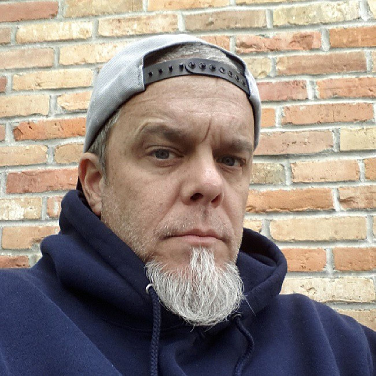 Grumpy old man. 57° and cloudy. Grumpy Gottagrillanyway