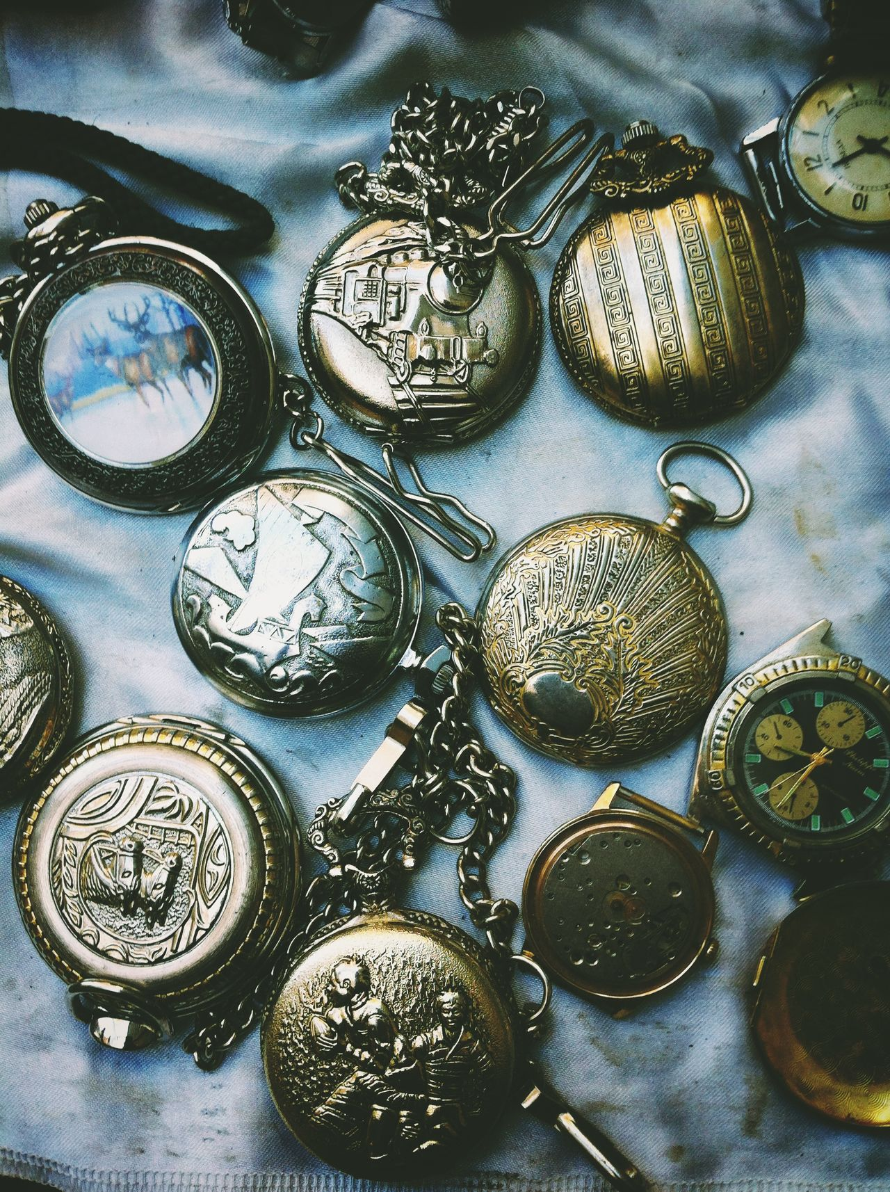 Pocket Watch Watches Old Watches Bazaar Tirana Albania Old Stuff Retro Vintage