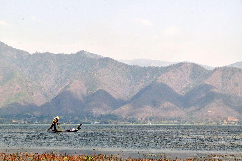 Oksk Photopackers Inle Lake Myanmar Nyaungshwe Boat
