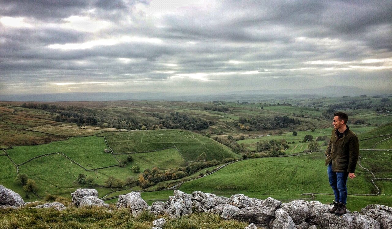 Gods own country. Yorkshire Dales. Malham Cove Yorkshire Dales Yorkshire Rural Scene Landscape Beauty In Nature Outdoors