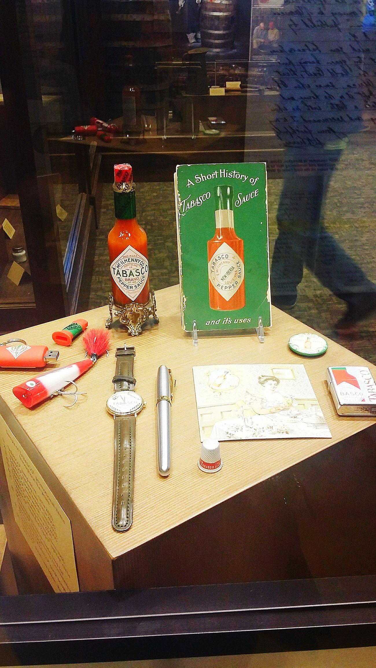 Tabasco Merchandise Displays Museum