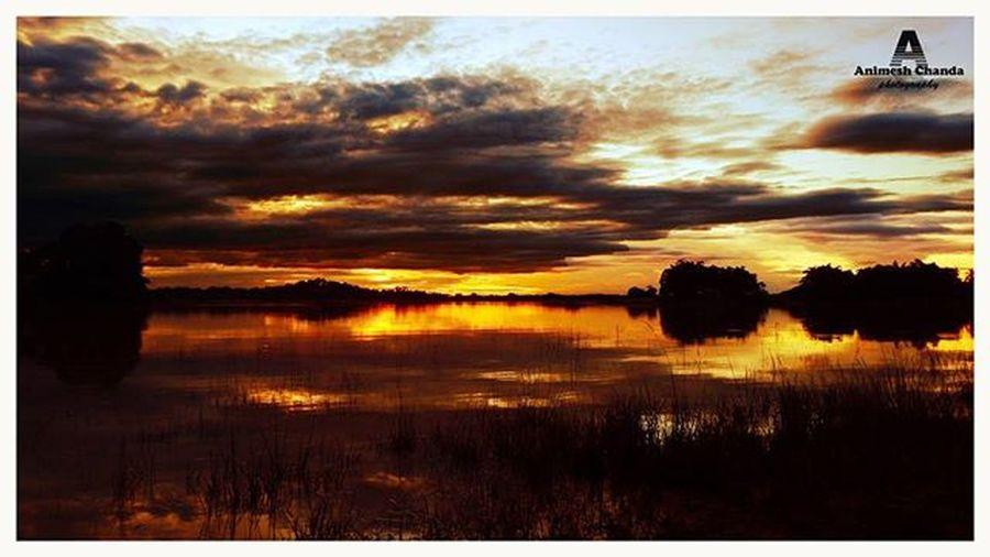Sunset...Sunset Clouds Cloudy Instasky Instasunset Landscape Ig_sky Skylight Golden Naturesbeauty