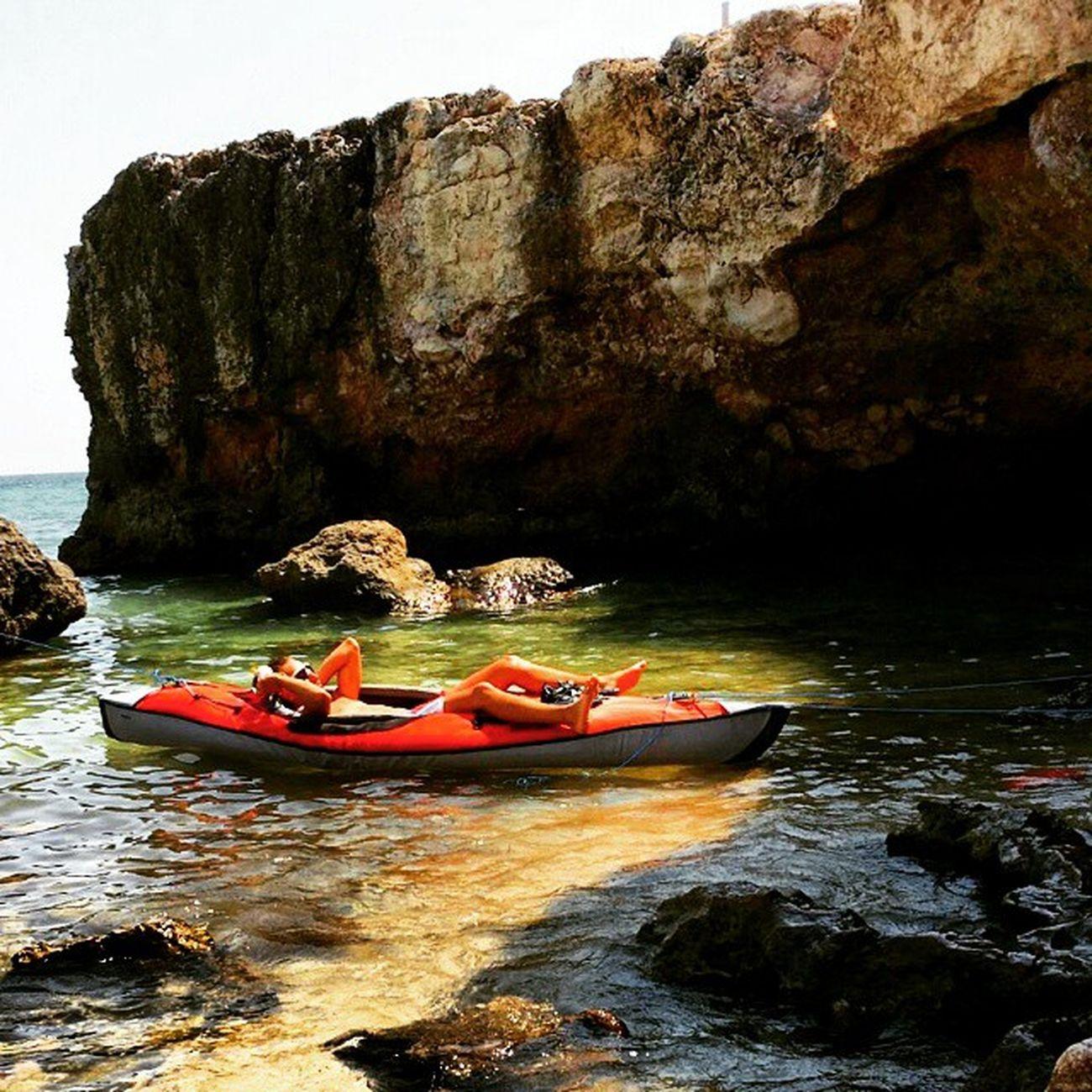 Relax Postallenamento Kayakeggiando Kayak Altomare Monopoli Top Picoftheday Summer Summertime Amaca