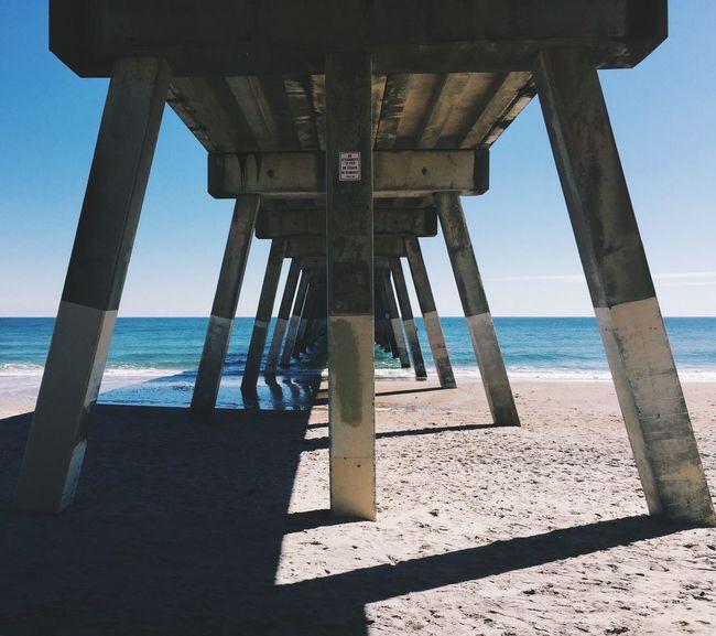 Under the Boardwalk... Under The Boardwalk Boardwalk Beach Beach Photography Wilmington NC Wilmington Wrightsville Beach NC Wrightsville Beach Waves, Ocean, Nature Sand Waves