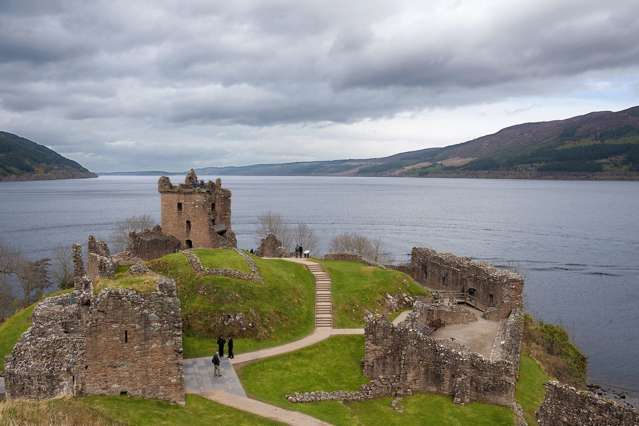 Loch Ness UrquhartCastle Cloud - Sky Castle Water Sky History Scenics Nature Beauty In Nature Architecture No People Day Outdoors Travel Destinations Built Structure Mountain Tranquility Sea Building Exterior