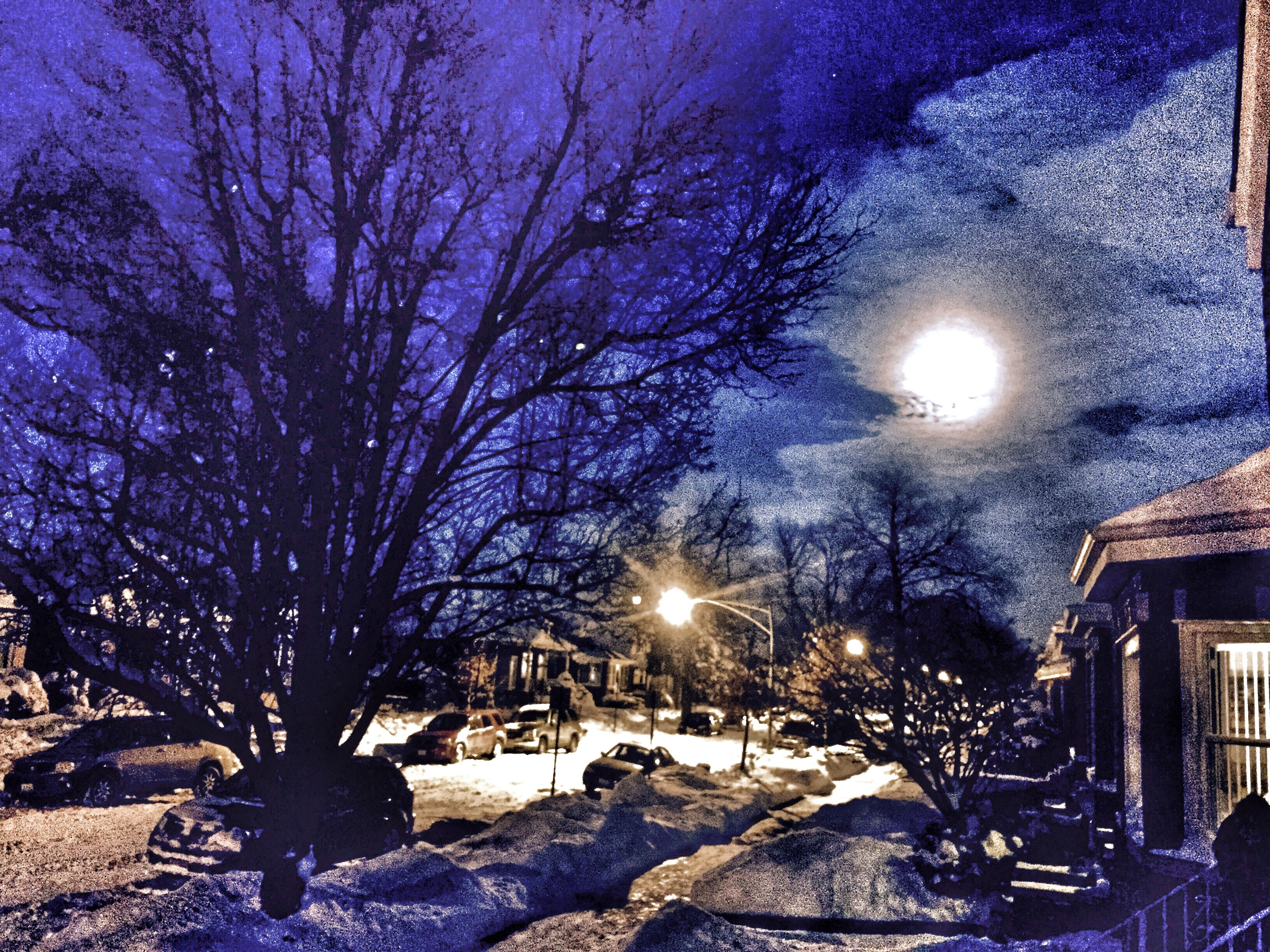 Wintry night in Chicago Taking Photos Check This Out My Edits