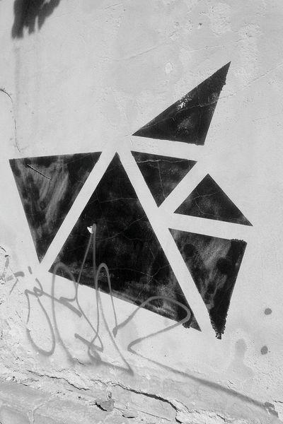 Tangram Graffiti Tangram  Pattern Wall Brunswick Braunschweig