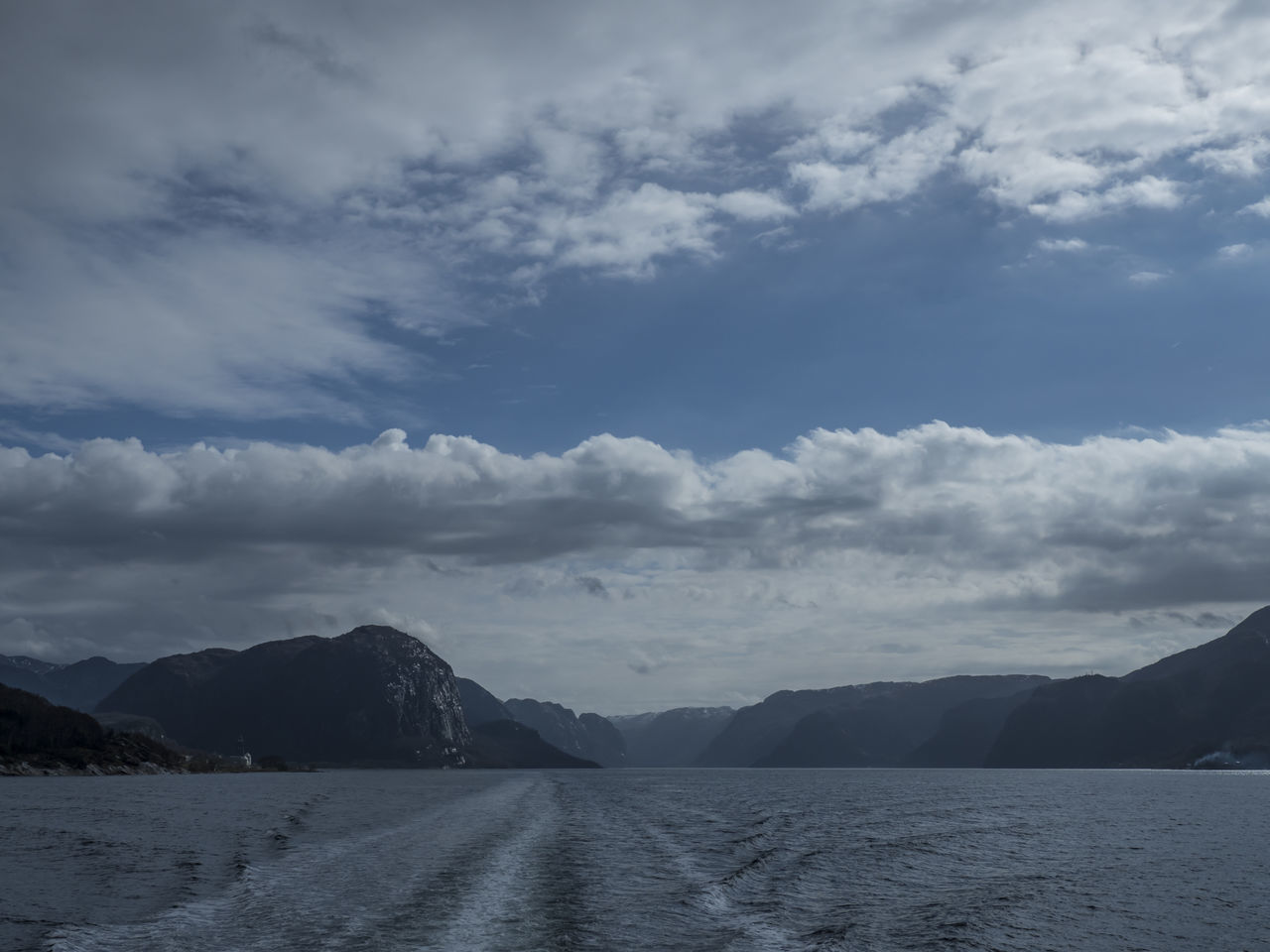 Cloud - Sky Day EyeEm Nature Lover Landscape Lysefjord No People Nordic Light Outdoors