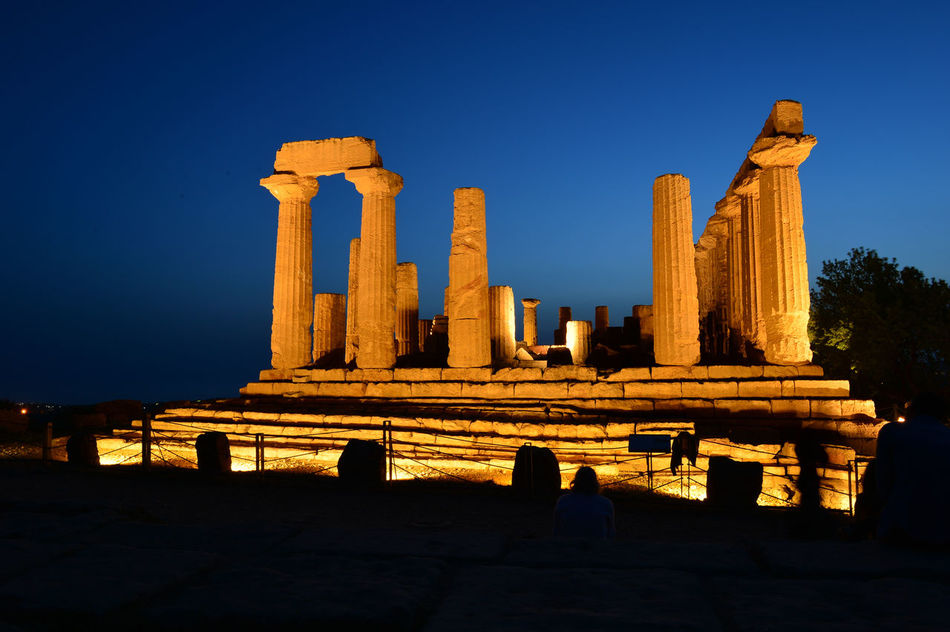 Agrigento Agrigento Sicily Built Structure Clear Sky History Old Ruin Religion Sky EyeEmNewHere