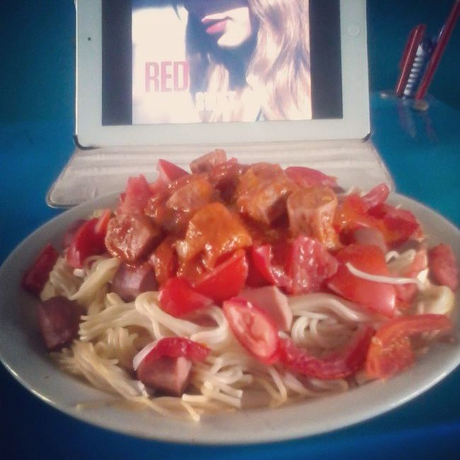 The day i made SauspagNamd .. To learn Howto make this nutritious food, check last post. KampusLife Foodian