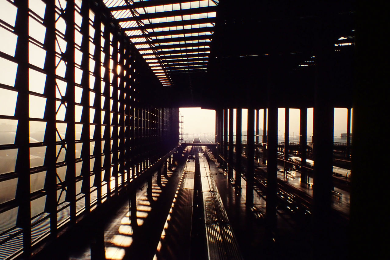 Architecture Atocha Built Structure Indoors  Madrid No People Railway Station Shadow SPAIN