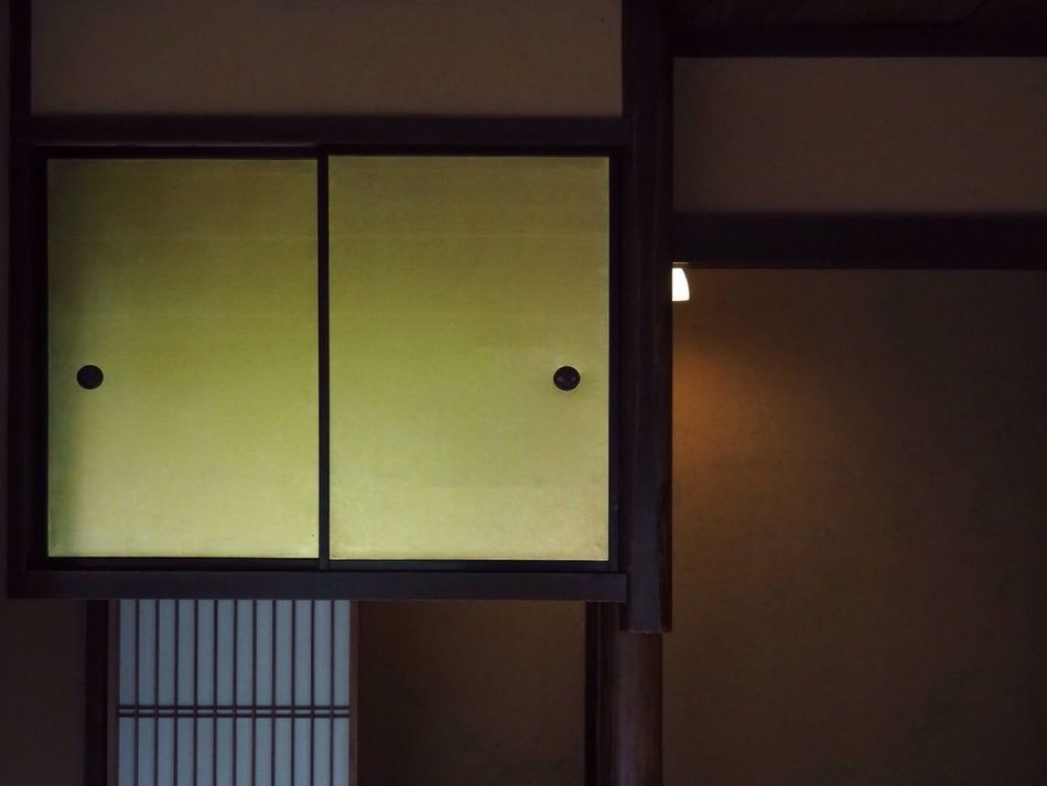 Kyoto Japan Kyotogosho Shusuitei Indoors  No People Home Interior Architecture Japanese Style Day Wabisabi Summer Olympus PEN-F 京都 日本 京都御所 拾翠亭