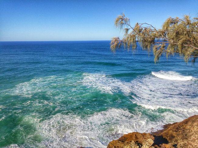 A beautiful sight indeed. Waves Crashing Stradbroke Island North Stradbroke Travel Photography Australia LG G3 The Great Outdoors - 2015 EyeEm Awards Holiday POV