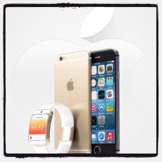 IWatch + Iphone6 combo renders by Martin Hajek. Apple
