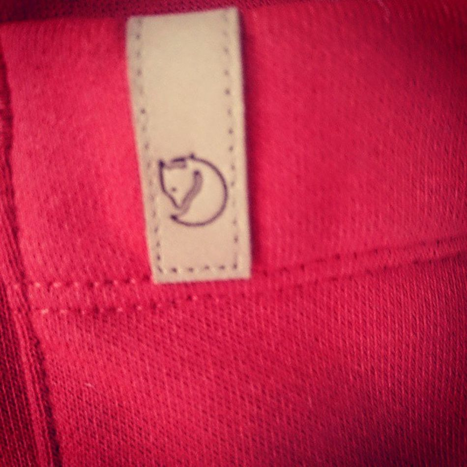 Small detail: the logo of Fjällräven on one off my latest purchase.. The quality is stunning Casual_district Casual_clobber The_oap_casual Supercasual_ Awayday_clobber Casualobsession