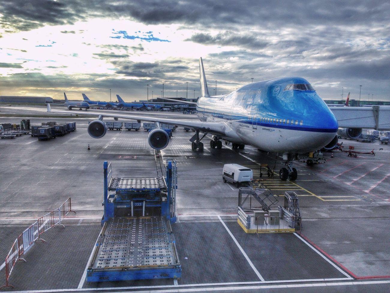 KLM's 747-300 First Eyeem Photo