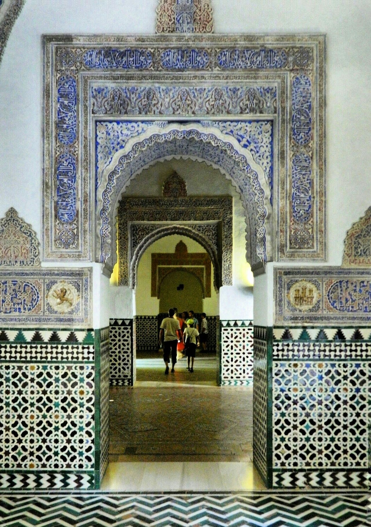 Realesalcazares de Sevilla Seville SPAIN Historical Place Andalusia Palace Historical Monuments