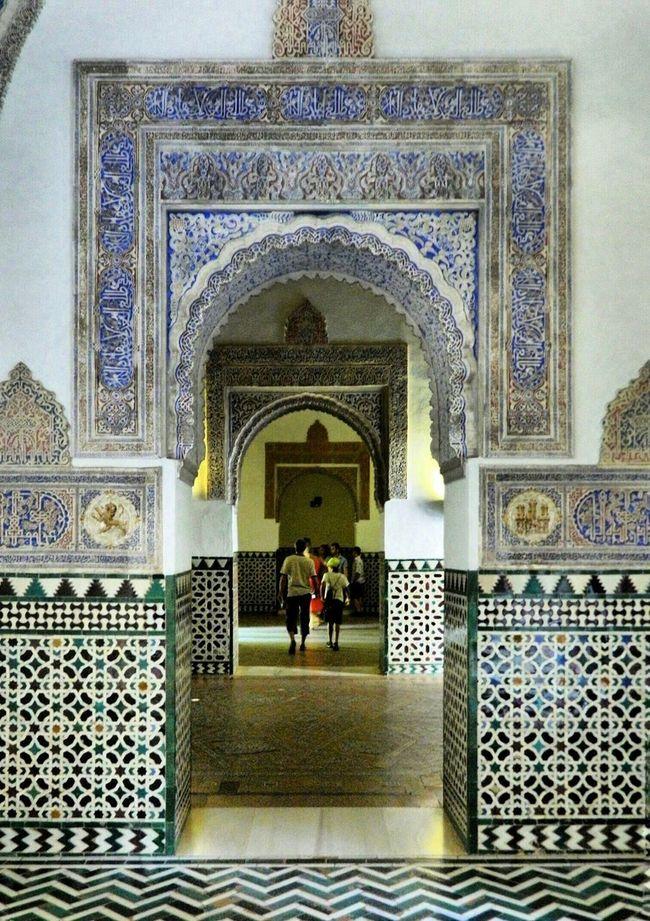 Realesalcazares de Sevilla Seville SPAIN Historical Place Andalusia Palace Historical Monuments