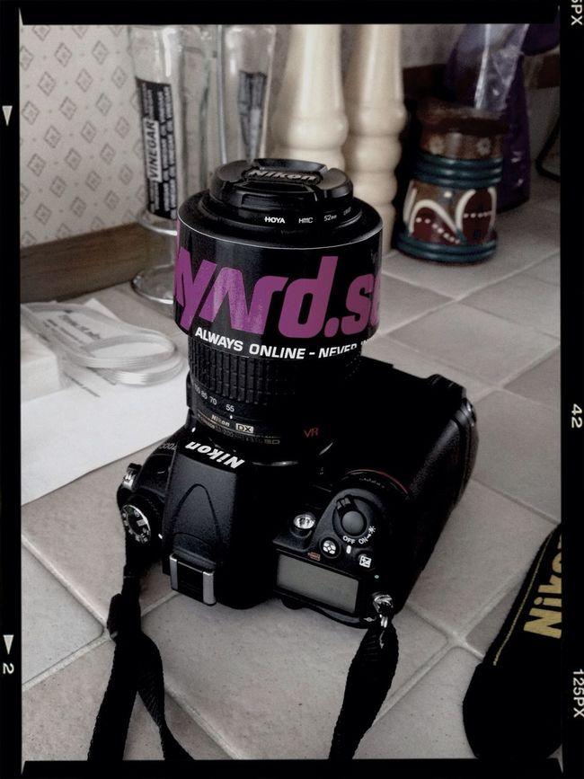 Ready to shoot. Nikon D7000 Junkyard