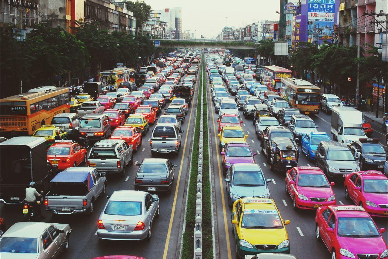 Bangkok Thailand Traffic Traffic Jam EyeEm Bestsellers Market Bestsellers April 2016 Bestsellers