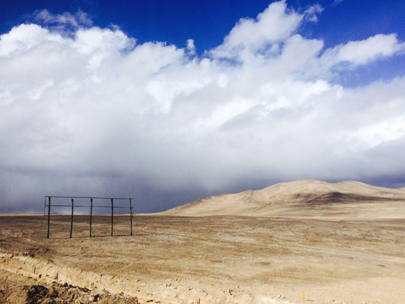 Desierto De Atacama Desert Calama Nuves Cielo Cielo Y Nubes  el desierto mas árido del mundo